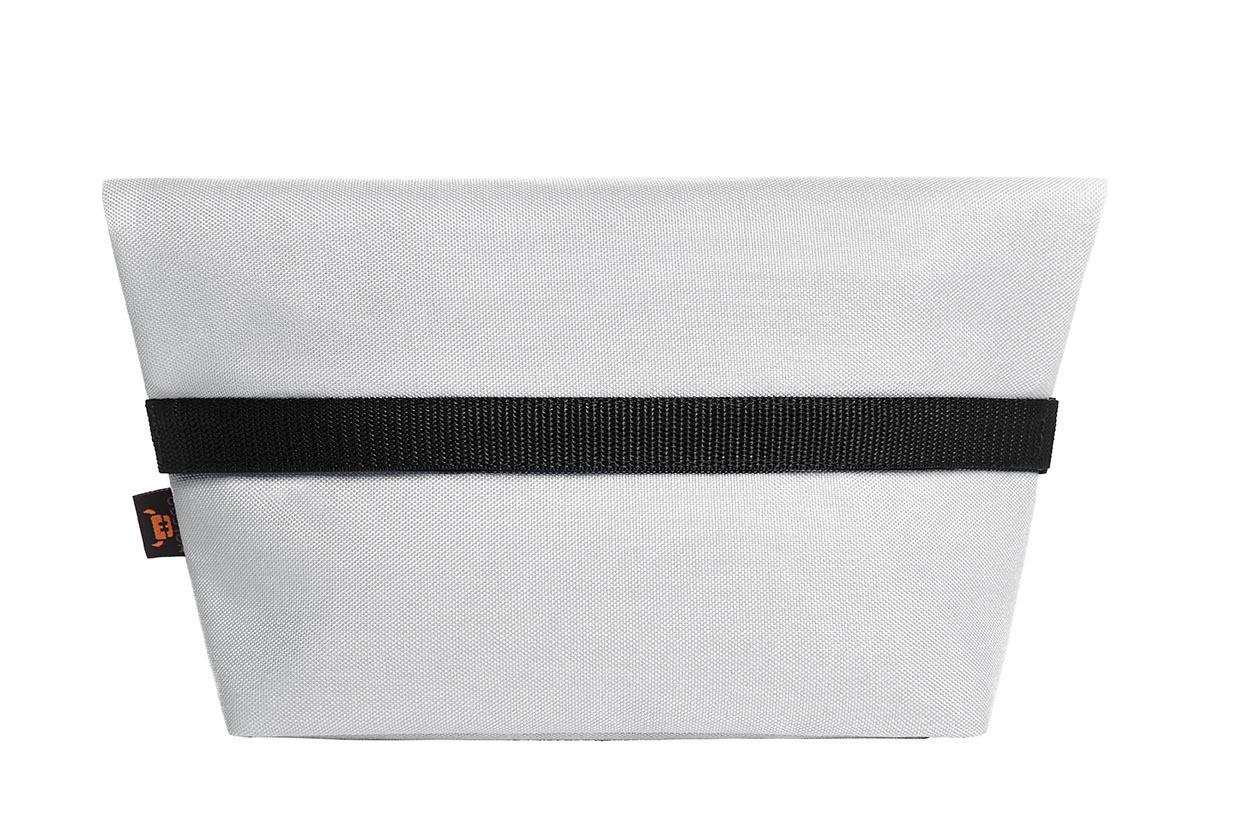 Kylmäpussi valkoinen taitettu